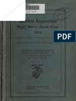 (1922) U.S.M.C. Uniforms Regulations