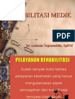 Pelayanan REHAB Medik fk UMJ