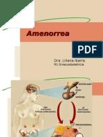 Amenorrea Primaria Secundaria