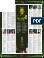 Calendar Stiintific 2014