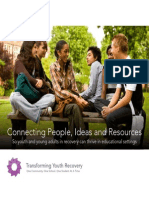 Transforming Youth Recovery, Brochure (Rev. 11-22-13)