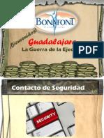 LA GUERRA DE LA EJECUCIÓN- Bonafont- Guadalajara
