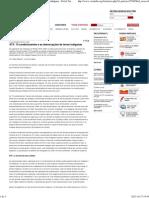 STF_ 19 condicionantes e as demarcações de terras indígenas - Portal Vermelho