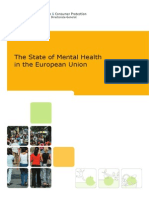 The State of Mental Health in European Union
