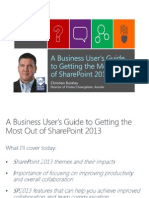 A Business User's Guide to Getting the Most Out of SharePoint 2013