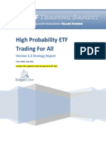 High Probability ETF Trading for All
