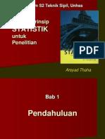 STATISTIK (ARSYAD THAHA)