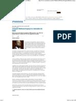 Joaquim Barbosa tropeça no mensalão do DEM - Carta Maior