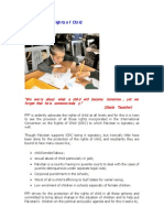 PFP Policy on Rights of Child