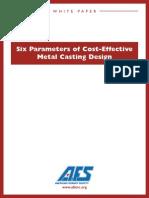 Afs Casting Design Whitepaper