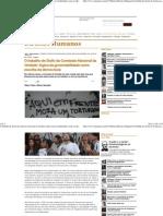 O trabalho de Sísifo da Comissão Nacional da Verdade_ lógica da governabilidade como escolha da democracia - Carta Maior