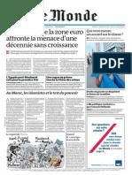 Le Monde 29 Novembre