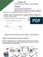 Unidad II_Subestaciones Eléctricas de Poder y Distribución