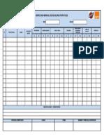 Bechtel F021 Inspección mensual de escaleras