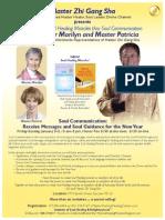 Soul Communication January 3-5 2014 in San Jose