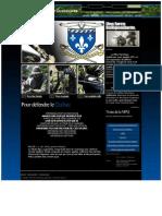 Milice Patriotique Québécoise - Une force indépendante