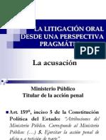 Técnicas de Litigación Oral - La acusación