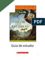 Guia de La Lectura El Color de Mis Palabras