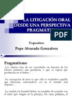 Técnicas de Litigación Oral-Generalidades
