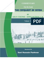 """Commentary on the book """"Conquest of Sindh"""" Volume - I"""