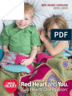Red Heart Yarns Catalog 2012