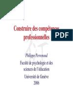 Conference de PhilippePERRENOUD