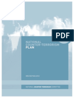 2012 National Counter-Terrorism Plan