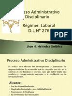 Proceso Administrativo Disciplinario