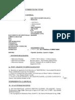 Modelo Curriculum Vitae II
