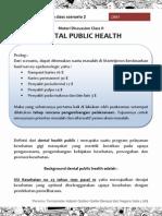 Tutorial 1 Diskusi Kelas Skenario 2 Public Dental Helath