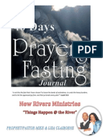 40 Days Fasting & Praying