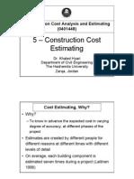 5.CostEstimating