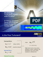 Turbulent Flow Modeling