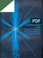 Sylvania Engineering Bulletin - Germicidal & Short Wave UV 1962