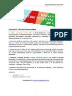 Magyar Marketing Fesztival 2014