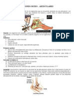 9.- Lesiones ostearticulares