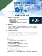 Silabo de Sap 2000