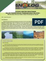 Buletin Planolog Volume 4 Edisi 1 Maret 2008