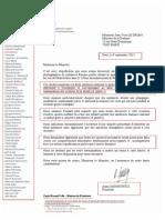 Lettre du Président de la Licra- Jean-Yves Driand du 13-09-2013 - Affaire Dieudonné