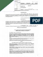 Decreto que oficializa creación de Semillero Sociedad de Debate