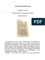 Narração do Dilúvio da Epopéia de Gilgamesk