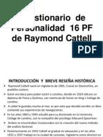 Cuestionario 16PF CATTELL