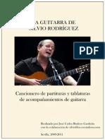 La Guitarra de Silvio Rodriguez - partituras y tablaturas del acompañamiento de guitarra