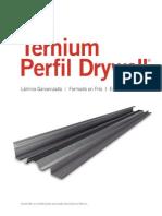 Perfil Drywall Ternium