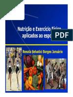 Nutricao e Exercicio Fisico Aplicado Ao Esporte