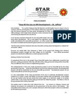PressRelease-2013-Stop All the Lies on BN Development-30 Dec 2013