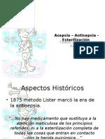 Asepsia – Antisepsia y Esterilización by Javier Toledo de Medical CUCS