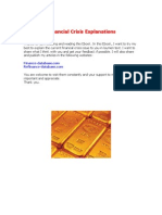 2008 Financial Crisis in Laymen Explanations