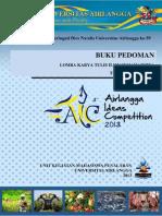 Pedoman LKTI Mahasiswa Template 30072013