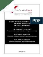 Bases Integradas Etapa Ficha de Proyectos